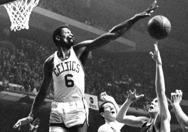 The Celtics legend Bill Russell putting on a block party - Photo Courtesy of 15 Minutes With...