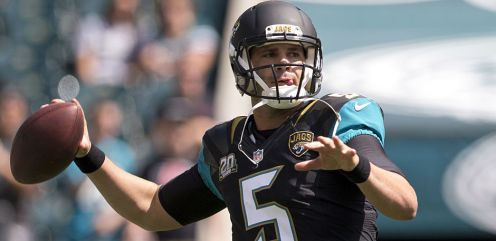 Jaguars QB Blake Bortles- Photo Courtesy of Getty Images